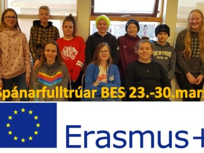 Spánarfarar í BES – Erasmus+